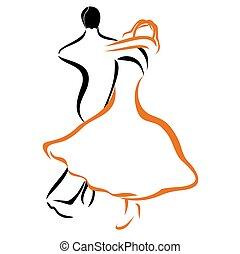 1, coupler danse