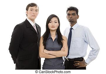 1, diverso, squadra affari