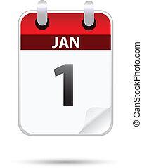 1, enero, blanco, calandria