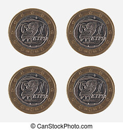 1 EUR coins from Greece