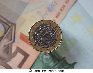 1 euro coin, European Union, Greece