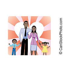 1, famille, église