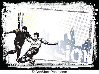 1, fotboll, bakgrund