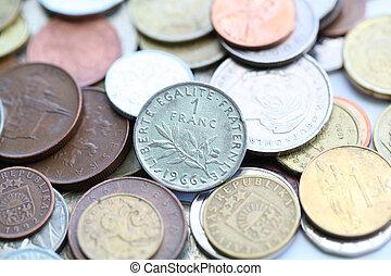 1 franc myntar