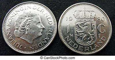 1 guilder coin