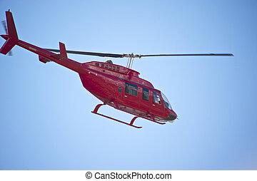 1,  Helicoptor, 紅色