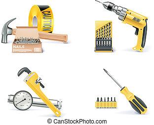 1, homebuilding&renovating., vettore