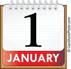 1, januari