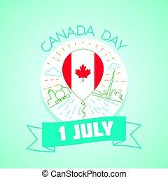 1, juli, kanada dag
