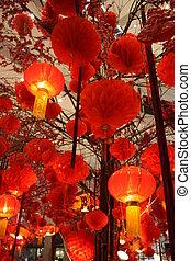 1, linterna china