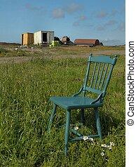 1, lugares, sentarse