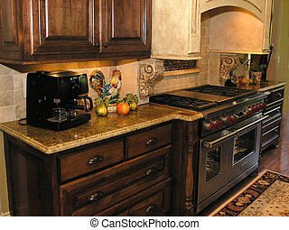 1, -, luxo, cozinha