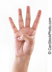 (1, mani, 3, , 4), 2, conteggio