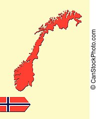 1, mappa, norveska