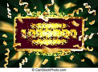 1 million followers thank you gold illustration. Vector
