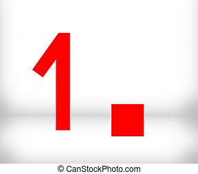 1 Number