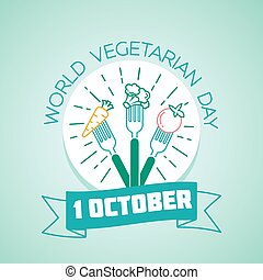 1 october World Vegetarian Day
