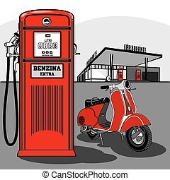 1, pompa carburante