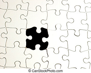 1, puzzle, buco