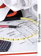 1), reeks, bouwsector, (drawings