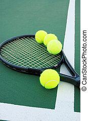 1, reihe, tennis