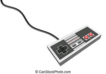 1, retro, gamepad