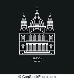 1, rue, icône, cathédrale, paul