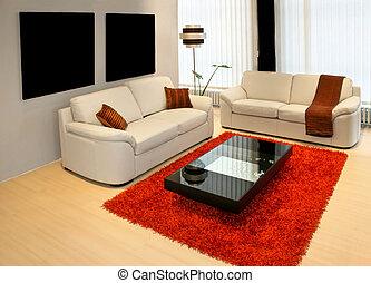 1, sala de estar