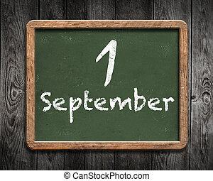 1 September background