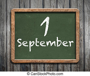 1 September background
