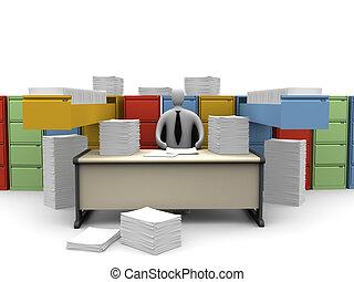 #1, skrivbordsarbete, ändlös