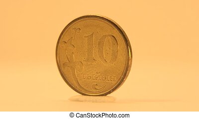 1 Som of Kyrgyzstan Coin - The National emblem of Kyrgyzstan...