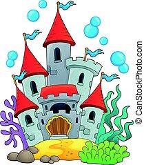 1, submarinas, castelo, tema