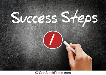 1 Success Step, business concept