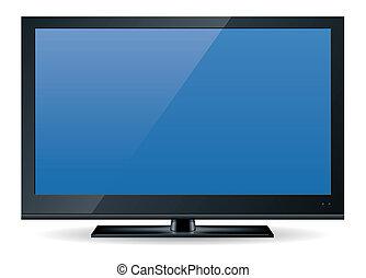 1, téléviseur, hd