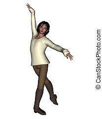 1, -, tancerz, samczyk młody