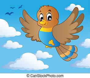 1, tema, pássaro, imagem