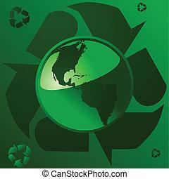 1, terra, reciclagem