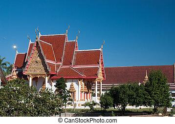 1, thai, północny wschód, świątynia