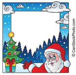 1, thema, kerstmis, frame