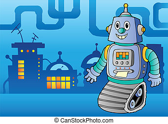 1, thema, robot, beeld