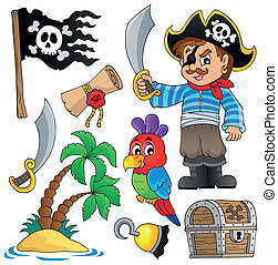 1, thematics, pirat, zbiór