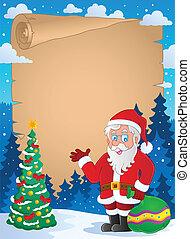 1, thematisch, kerstmis, perkament