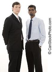 1, uomini affari
