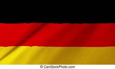1, vlag, 2, duitsland, achtergrond