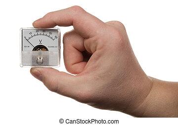 1, voltmeter, 手