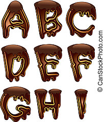 1, vzkaz, čokoláda