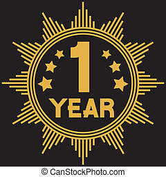 1 year symbol