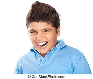 10代少年, 幸せ, 肖像画