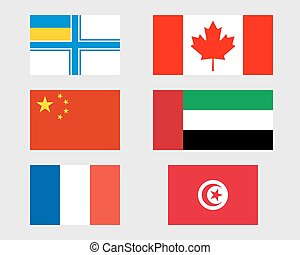 10., állhatatos, zászlók